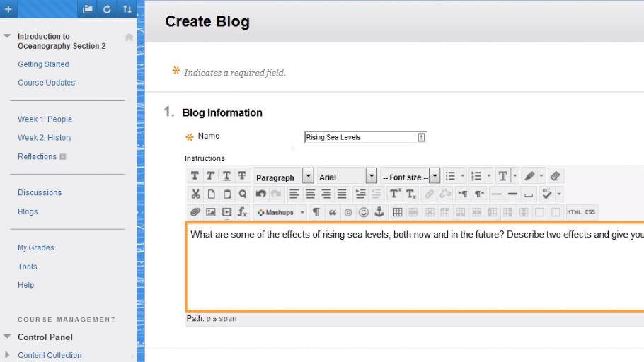 How to Create a Blog For shared online