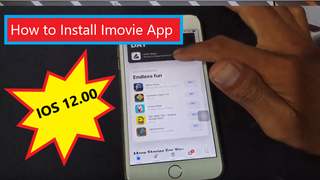 Imovie on ios 12.or 12.1.4 || app download For Apple