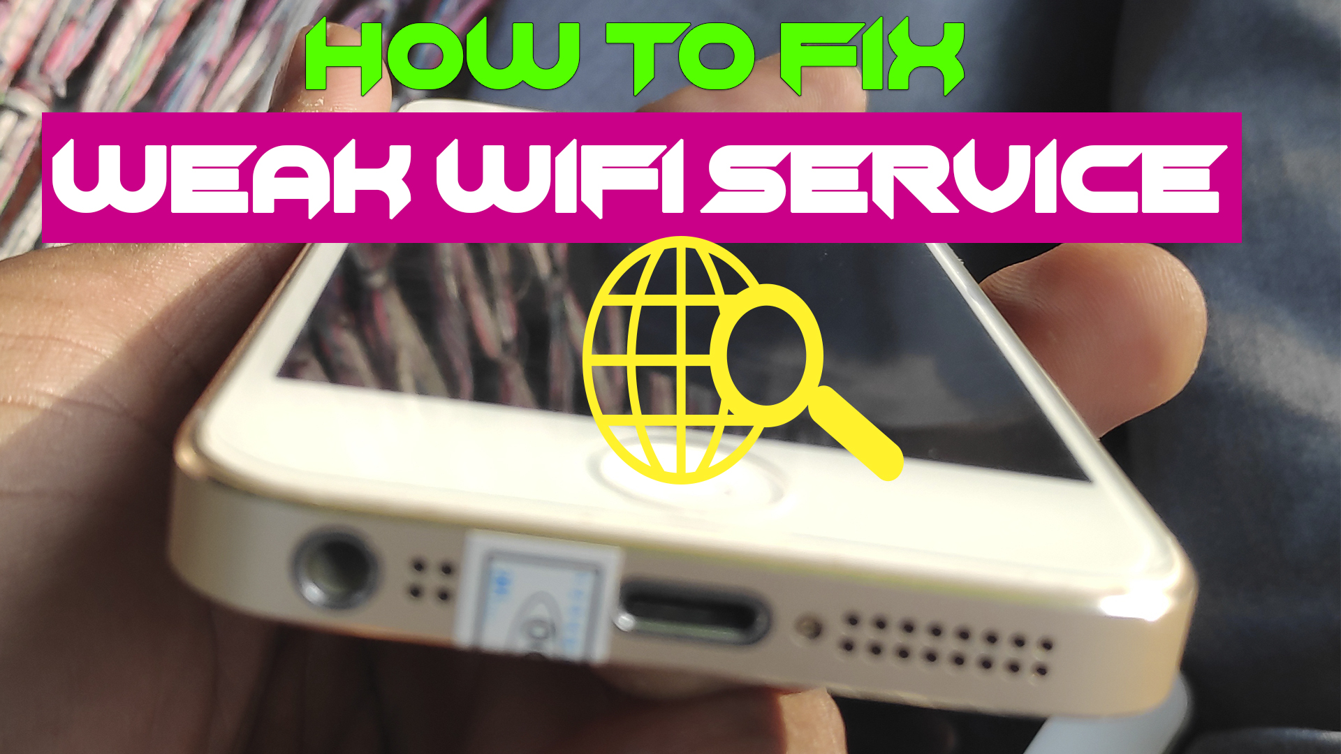 It ways to deal with fix a Fry WiFi signal on your iPhone without fix