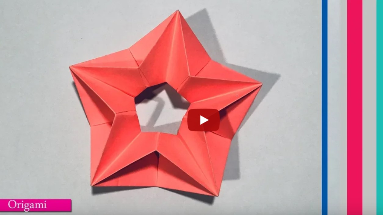 Paper Folding Art | How to make Modular Star || origami