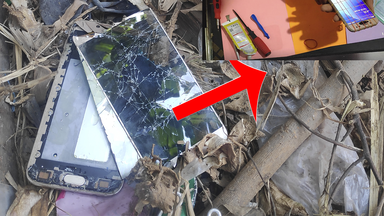 Found an abandoned phone in rubbish | Restoration Destroyed Galaxy J7 | Brocken Phone
