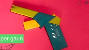 Origami, How To-Fold-Paper Guns || Art Craft Idea