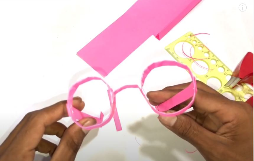 Origami || How To Fold–Sunglasses Paper